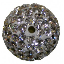 PERLE SHAMBALLA BLACK DIAMOND 12mm