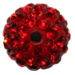 PERLE SHAMBALLA LIGHT SIAM 12mm