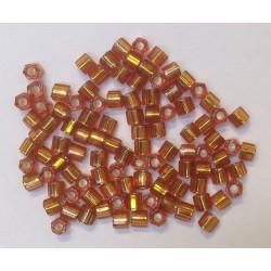 HEXAGONE TOPAZ ARGENT BRILLANT 8/0 5 grammes