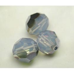 RONDES SWAROVSKI WHITE OPAL STAR SHINE 6mm/10 pièces