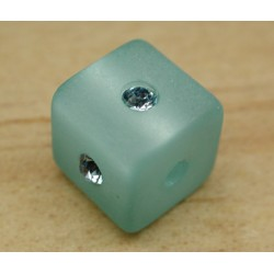 CARRE AQUAMARINE 8mm