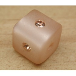 CARRE LIGHT PEACH 8mm