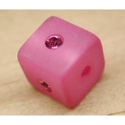 CARRE ROSE 8mm